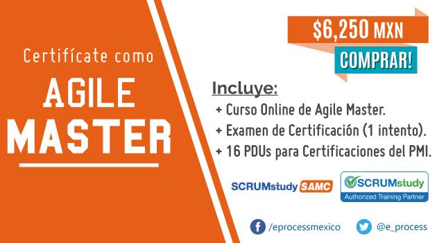 Curso de SCRUMstudy Agile Master Certified (SAMC)