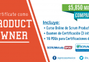 Curso de Scrum Product Owner Certified (SPOC)