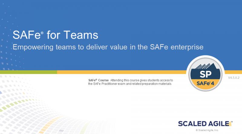 SAFe® for Teams