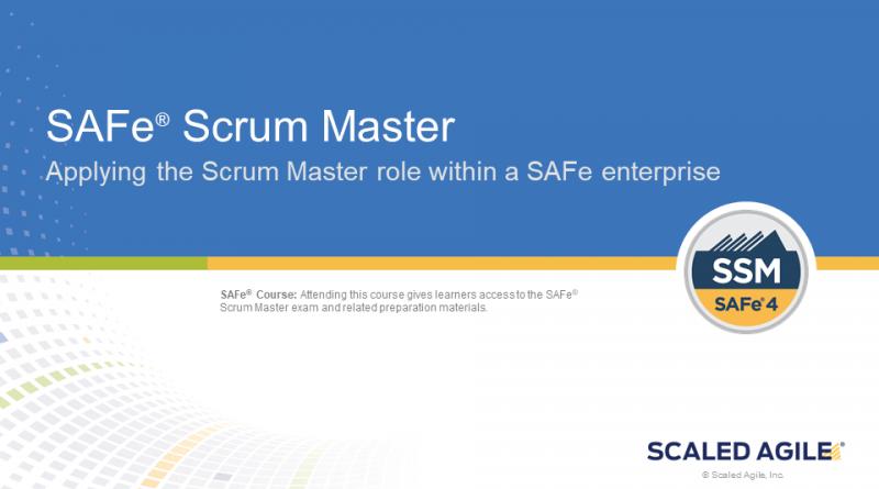 safe® scrum master – e-process